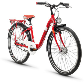 s'cool chiX 26 7-S - Vélo junior Enfant - steel rouge